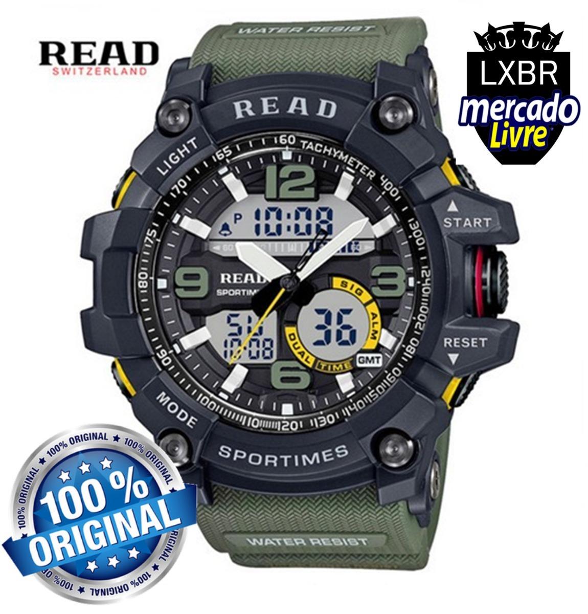1e7141973f0 Relogio S Shock Militar Prova Dagua Original Read Lxbr R22 - R  139 ...