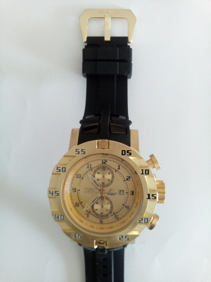 cd31af6bdf0 relógio s1 dourado grande pesado barato importado. Carregando zoom.