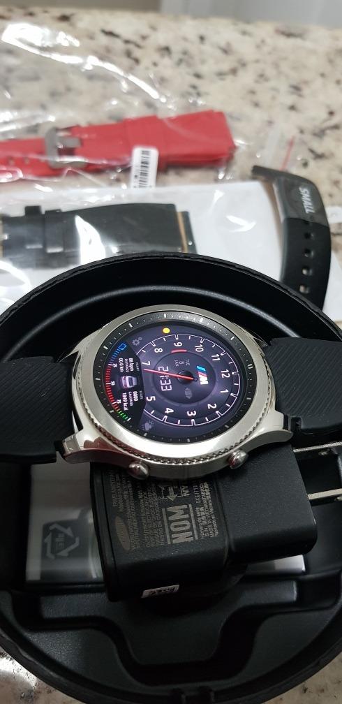 21715c1bebb relógio samsung gear s3 classic - wifi bluetooth sm-r770. Carregando zoom.