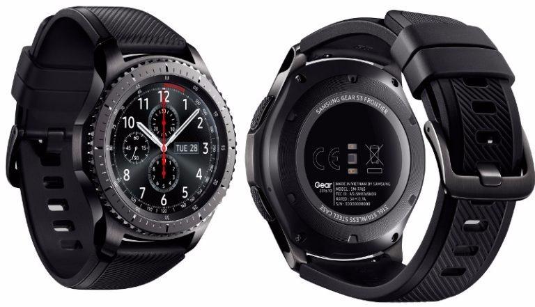 6ec23eff7d2 Relógio Samsung Gear S3 Frontier R760 - Smartwatch P Entrega - R  1.579