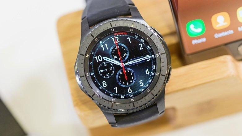 Relógio Samsung Gear S3 Frontier R760 Smartwatch Space Gray - R$ 1.285,00 em Mercado Livre
