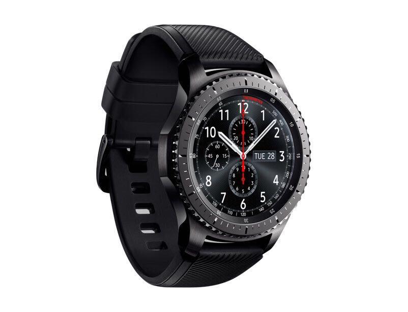 a88e811c168 Relógio Samsung Gear S3 Frontier Sm-r760 Smartwatch - R  1.499