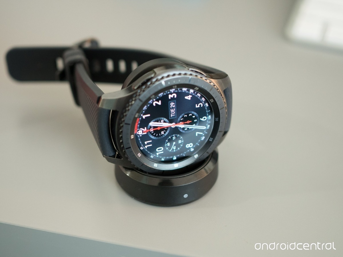 a2fa0150a35 Relógio Samsung Gear S3 Frontier Sm-r760 Smartwatch Eua - R  1.395 ...