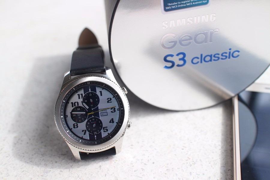 Relógio Samsung Gear S3 Sm-r770 Classic Wifi Bluetooth - R  1.496,64 ... 281123c244