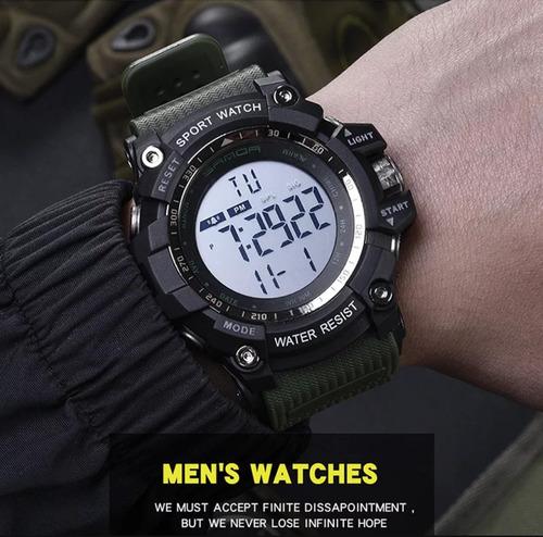 relógio sanda 359 militar original à prova d'água!