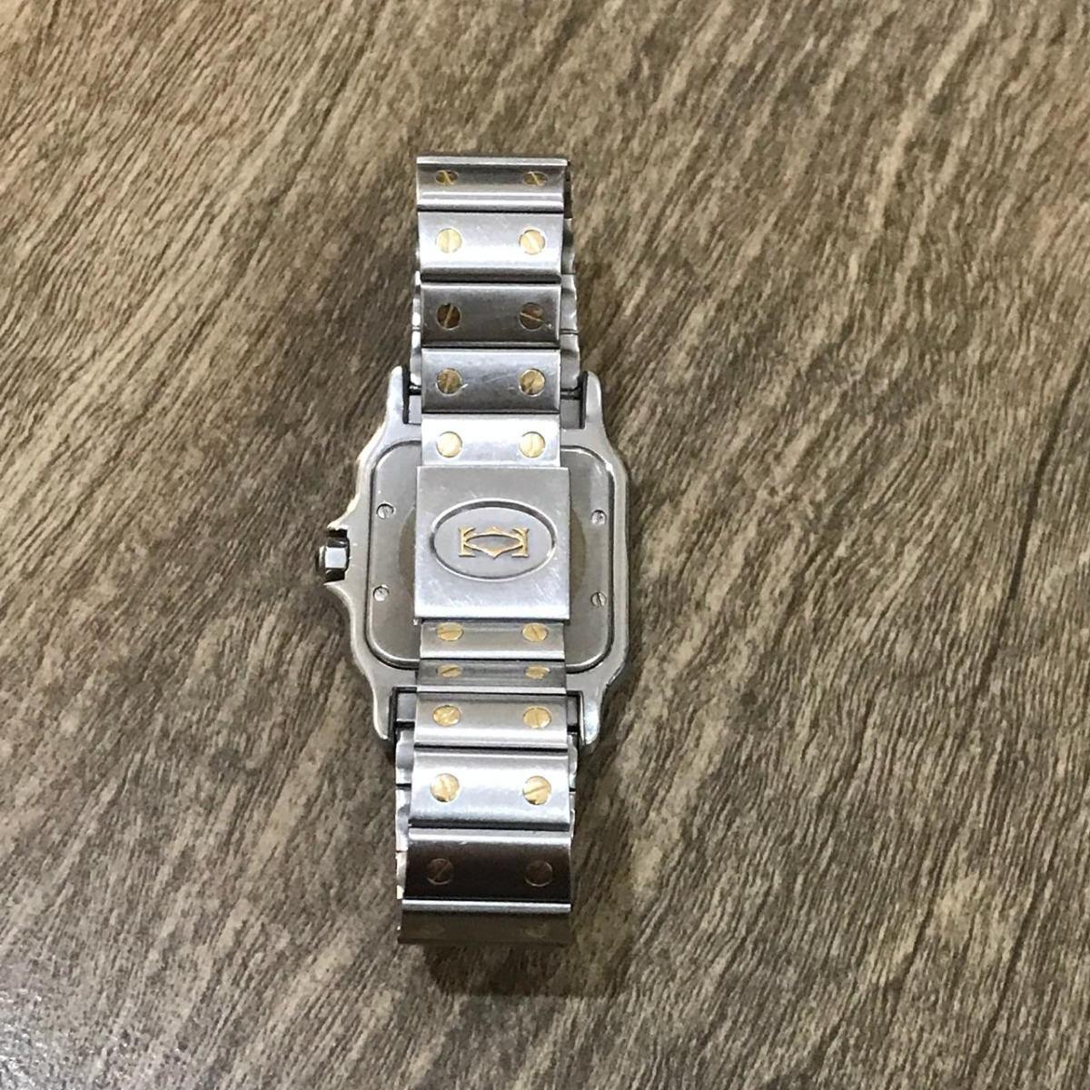 77ee9a6c799 relógio santos cartier aço e ouro 18k (case 29mml). Carregando zoom.