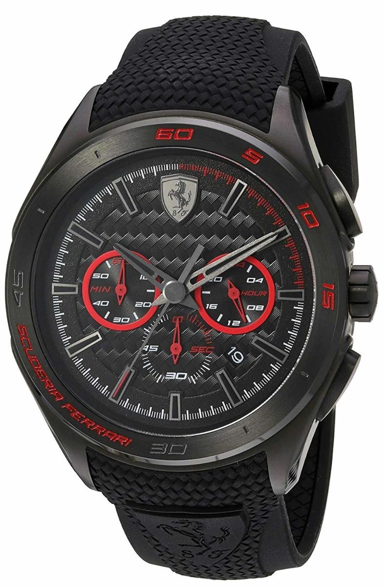 60d38b95374 relógio scuderia ferrari aço e silicone importado original. Carregando zoom.