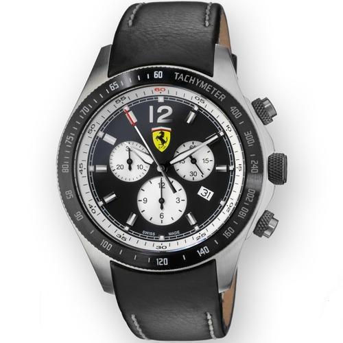 d337aece023 Relógio Scuderia Ferrari Chrono Importado Suiça 100%original - R  1.249