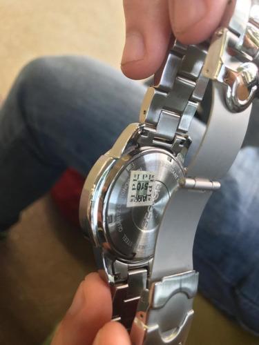 relógio sector masculino quartz - original