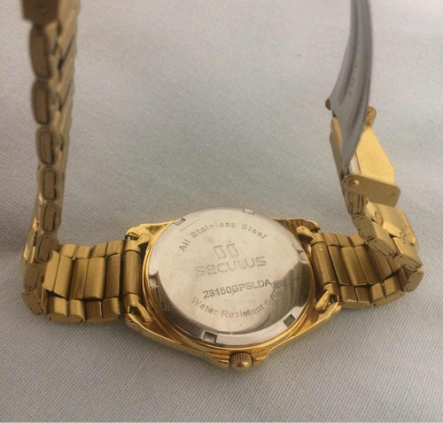 relógio séculos estilo urbano modelo 23150gpslda - original