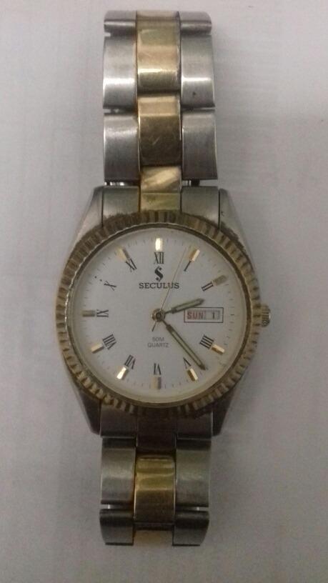 7341c7bae6e relógio seculus antigo ano de 1972. Carregando zoom.