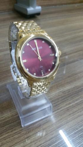 relógio seculus feminino 20565lpsvds1 c/ garantia e nf full