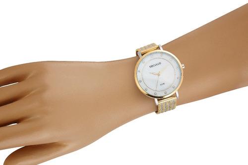 relógio seculus feminino 77041lpsvbs1