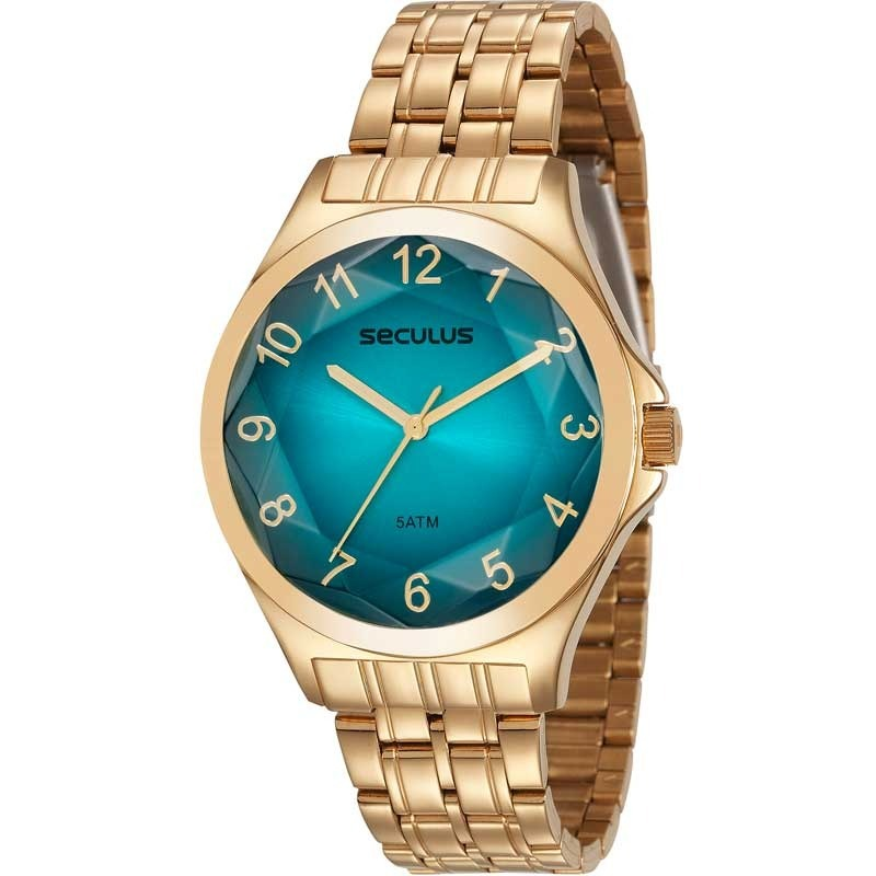 146f9dd9e7b Relógio Seculus Feminino 23602lpsvds2 - R  295