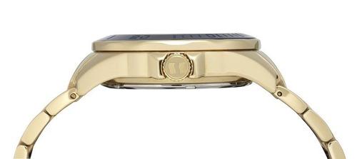 relógio seculus feminino dourado 20371lpsvds1