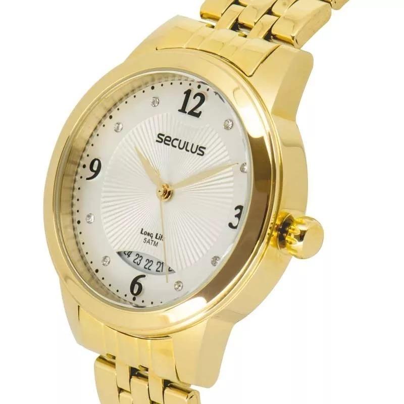 6f40ec1a839 Relógio Seculus Feminino Long Life