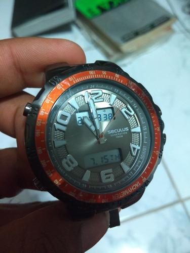 relógio seculus lindissimo anadigital