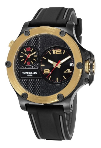 relógio seculus masculino 20732gpsvhl1
