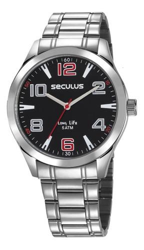 relógio seculus masculino 23654g0svna1