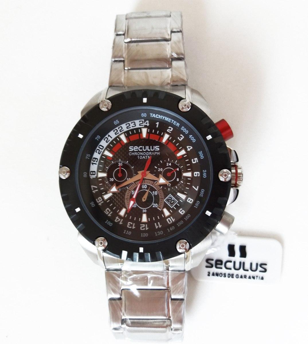 26af228e13e relógio seculus barato cronometro analogico masculino · relógio seculus  masculino. Carregando zoom.