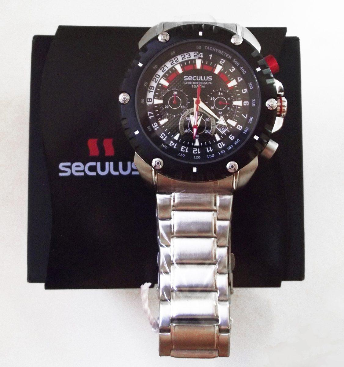 10b98cfc51a relógio seculus barato cronometro analogico masculino. Carregando zoom... relógio  seculus masculino. Carregando zoom.