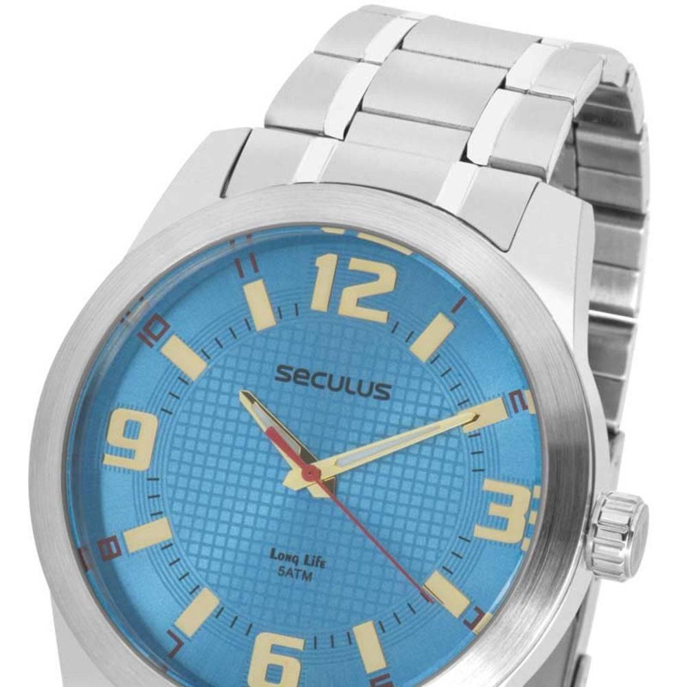 8983d936b8d relógio seculus masculino long life 20501g0svna1 - loja. Carregando zoom... relógio  seculus masculino. Carregando zoom.