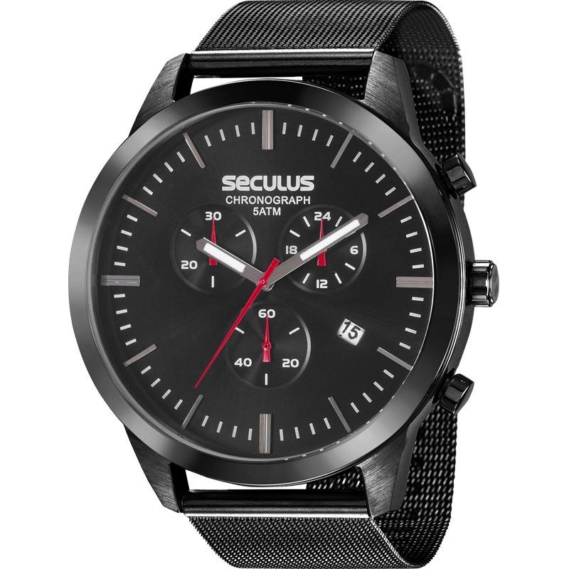 a1505f984f1 relógio seculus masculino chronograph 20605gpsvpa1. Carregando zoom.