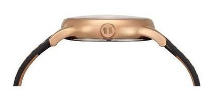 relógio seculus masculino clássico preto pulseira em couro 3039gpsvrc3 - 2 anos de garantia