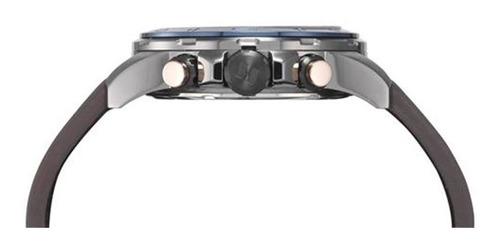 relógio seculus masculino couro 13016gpsvsc3