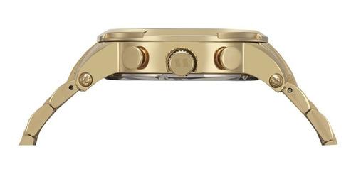 relógio seculus masculino de luxo cronógrafo 20744gpsvda1
