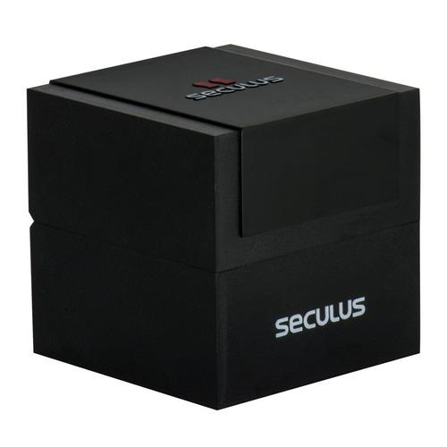 8a2ea07152d Relógio Seculus Masculino Long Life 20501g0svna1 - R  200