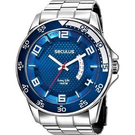 Relógio Seculus Masculino Long Life 28961g0svna1