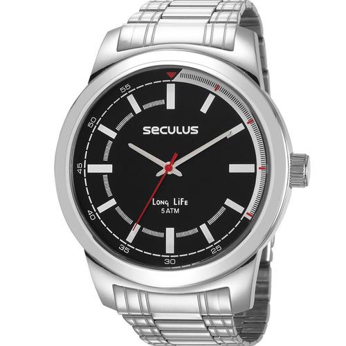 relógio seculus masculino original garantia nfe 23643g0svna1