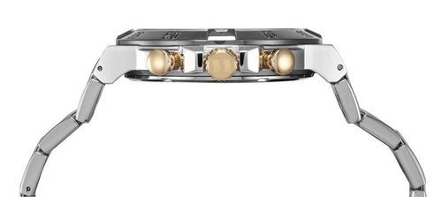 relógio seculus masculino prata 20428gpsvca1