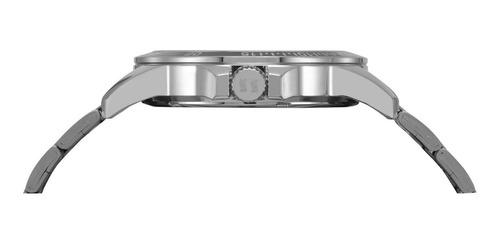 relógio seculus masculino prata analógico + garantia + nf