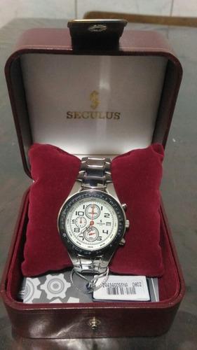 relógio seculus stilo cronografo em ótimo estado ñ citizen