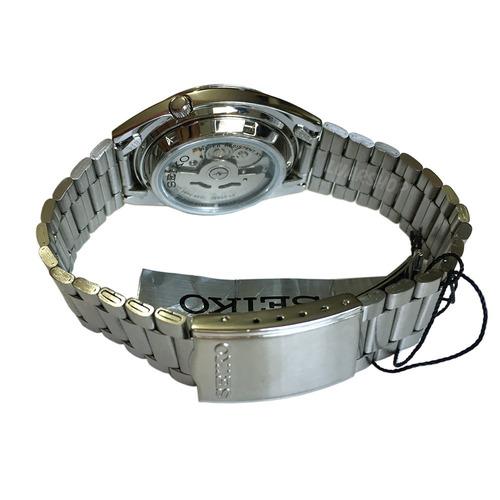 relogio seiko 5 automatico prata masculino original caixa nf