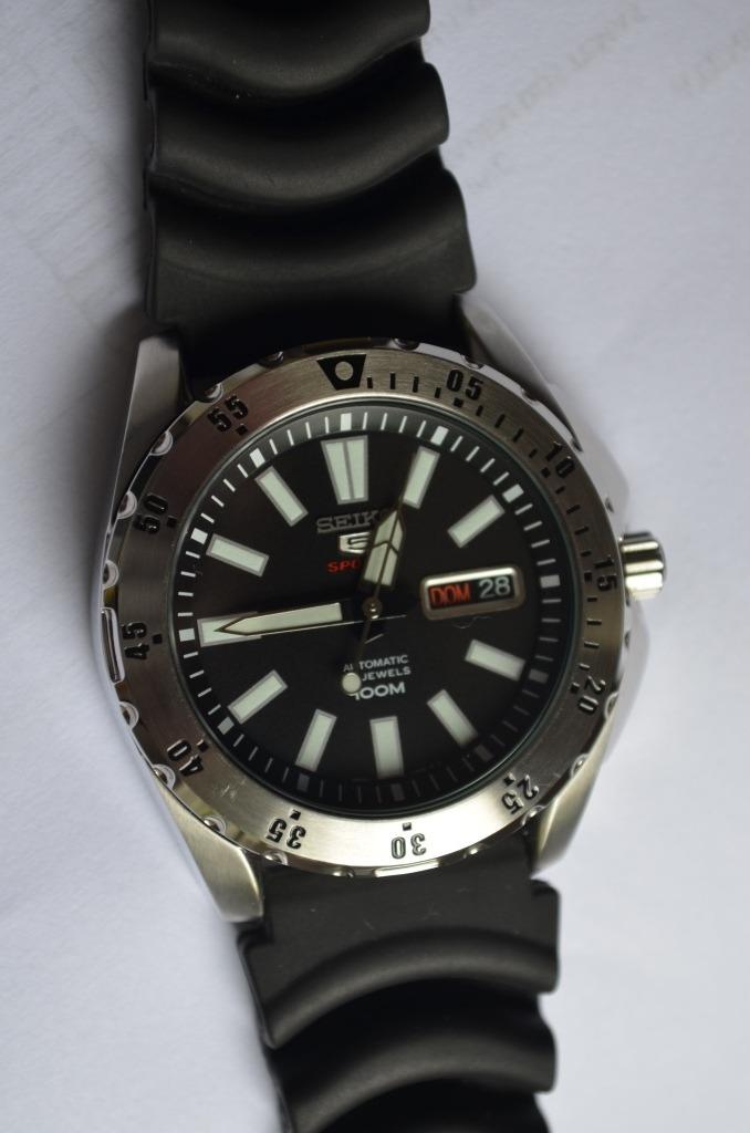 Relógio Seiko 5 Sports Automatico 24jewels 4r36ao 8 - R  650,00 em ... 460323e81b