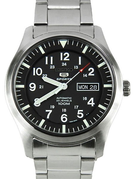 3de239566de Relógio Seiko 5 Sports Automático Snzg13k1 23 Jewels 100m - R  1.386 ...