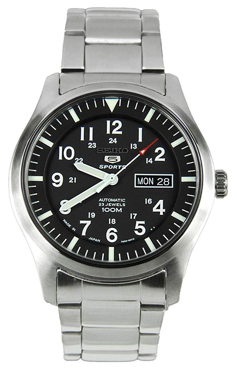 relógio seiko 5 sports military automatic g 6063 r 1 614 72 em