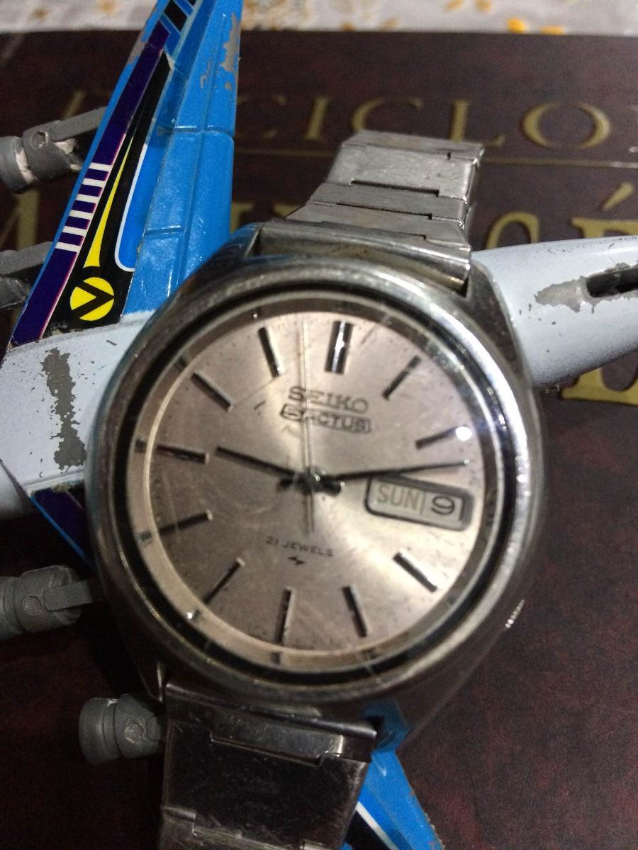 227bb2a9a4e Relógio Seiko 5actus (restauro) Canaldorelogio 033 - R  199