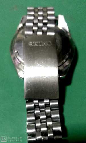 relógio seiko 6119-8083 fundo grafite automático  21 rubis