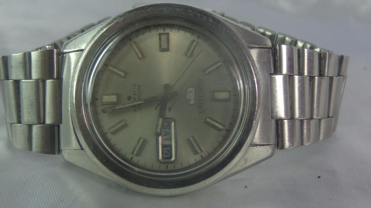 32718062e1a Relógio Seiko 6119 Acetinado Garantia 6 M. Relogiodovovô. - R  450 ...