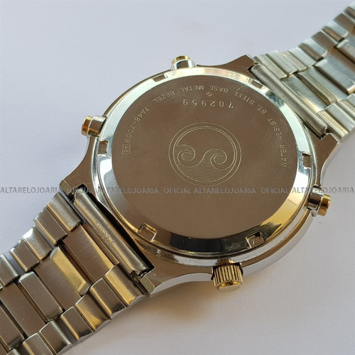 relógio seiko 7a48-7009 moon phases cronógrafo