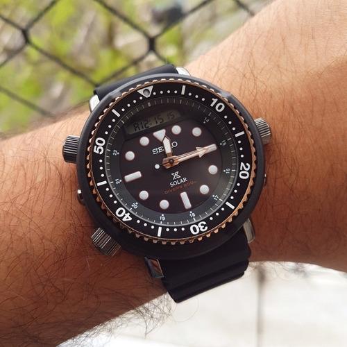 relógio seiko arnie snj028 relançamento novo p. entrega
