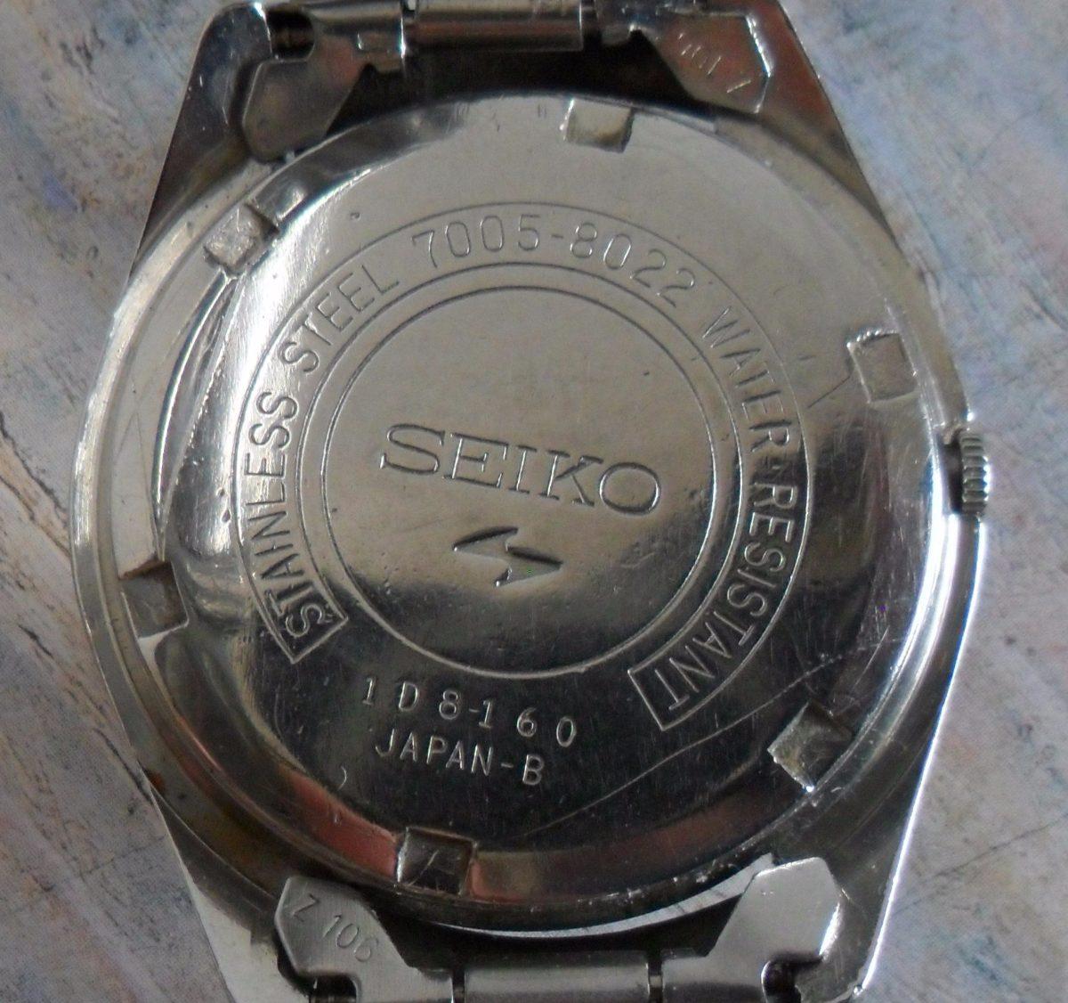 51efb6fe3f7 relogio seiko automatico 8160 japan antigo - veja!!!!!!!! Carregando zoom.