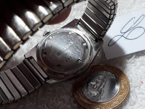 relógio seiko, automático, unissex  !