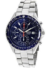 9b7ef3c5c Relogio Seiko Aviator Snd517 Chronograph - Relógios De Pulso no ...