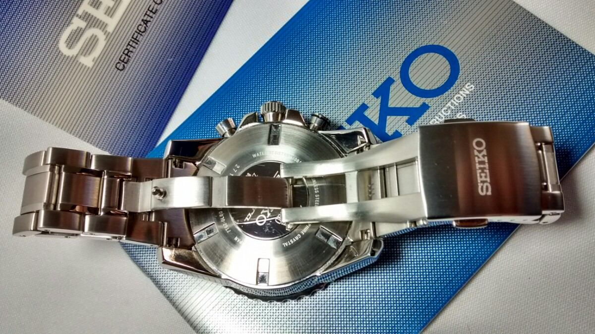 0cf6365aacfbb relógio seiko cronoalarme sportura safira 7t62bt 1  aviator . Carregando  zoom.