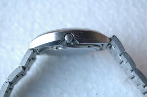 relógio seiko diamatic c/ aro rosqueado relogiodovovô